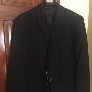 Other - Men's Black 2-piece Suit 50L 44W Slim Fit